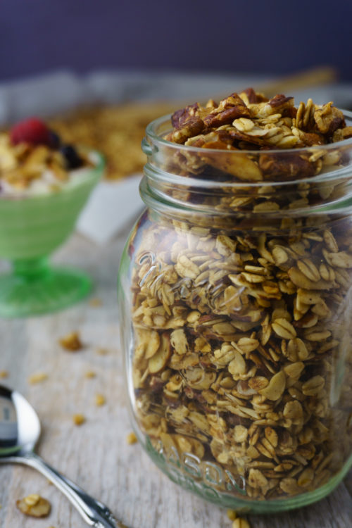 Simple Oat & Nut Granola