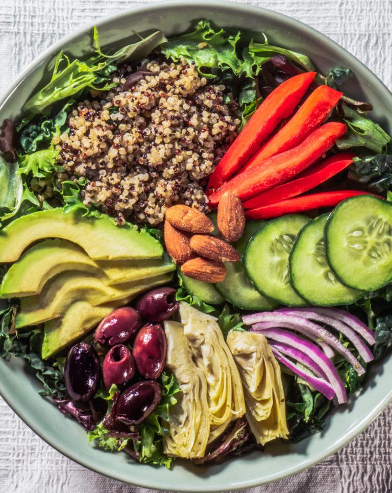 Mediterranean Power Salad