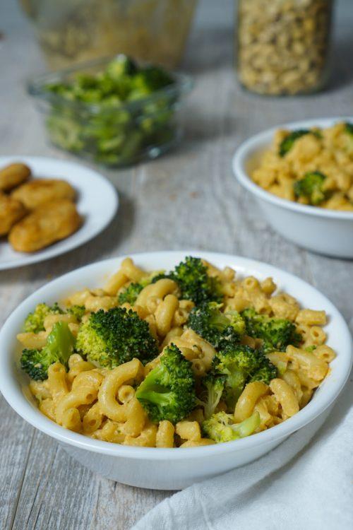 Broccoli Mac and Vegan Cheese