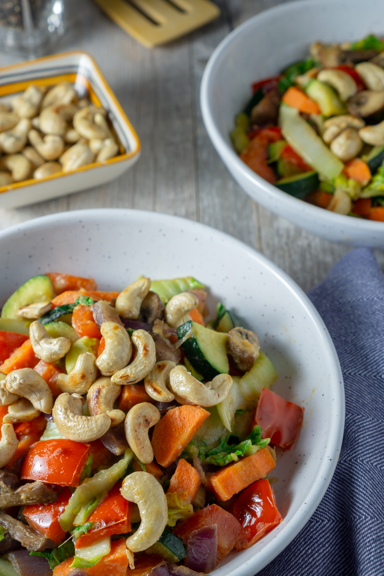 Ginger Cashew Stir Fry Recipe